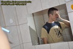 nienawidz kiedy paparazzi robi mi zdjcia gdy myj zby